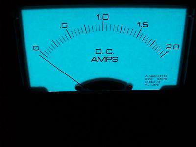 0-2 A. Dc. El Meter Day / Night Viewing