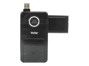 BRAND NEW Vivitar DVR 410 8 MB Camcorder - Black - Factory Sealed