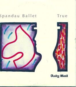 SPANDAU BALLET. TRUE. DAILY MAIL PROMO ONLY 8 TRACK CD IN CUSTOM CARD P/S. [Audi