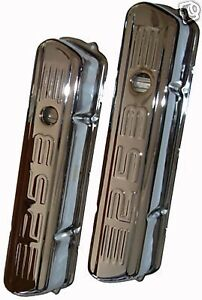 Holden 253 Logo Chrome Tall Rocker Covers 253 V8