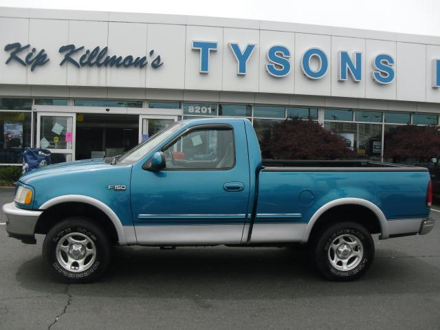 Used 1998 Ford F150 XLT 4x4 Regular Cab Sport Teal 5 Speed For Sale