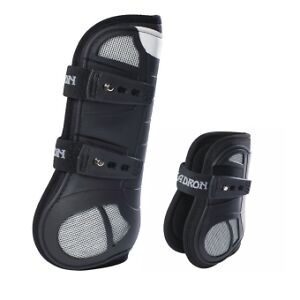 Eskadron-Flexisoft-Air-Protection-Boots-Front-Tendon-Hind-Fetlock-in-4-Colours