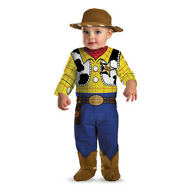 Infant Kids 0-6 Disney Toy Story Woody Classic Costume