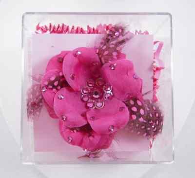 Tarina Tarantino Feather Flower Anywhere Clip Pink
