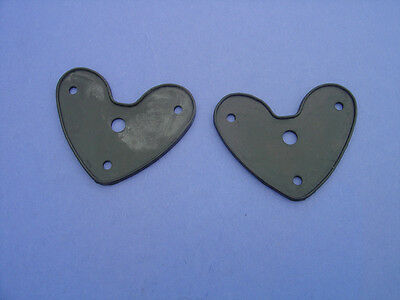 1928-1929-1930-1931 Ford Model A Taillight To Body Seals-pair-new