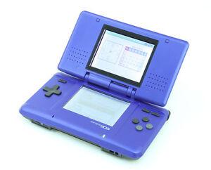 Nintendo-DS-Electric-Blue-Handheld-System