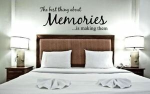 Memories-WALL-ART-STICKER-DECAL-QUOTE-MURAL