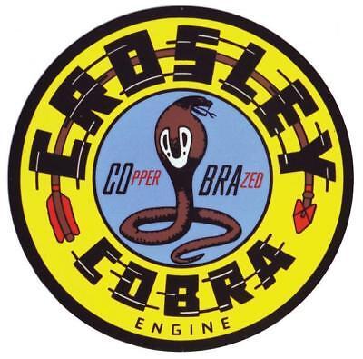 Crosley Cobra Service Sign Refrigerator Magnet