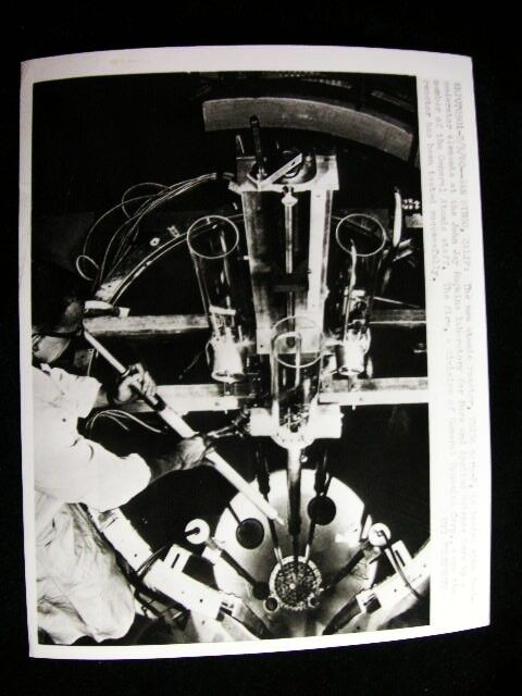 ATOMIC POWER REACTOR   PHOTO 1960 #6487