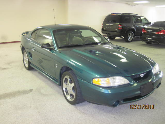 "1997 FORD MUSTANG ""COBRA"" LOW MILES"