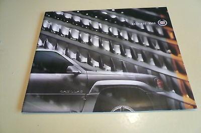 2000 Cadillac Sales Brochure Escalade - Buy 1 Get 1 Free