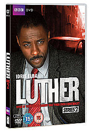 Luther - Series 2 - DVD - Idris Elba - Brand New & Sealed