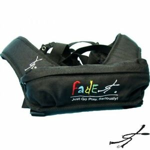 New-Fade-Gear-BLACK-WeatherGuard-Backpack-Straps-Disc-Golf