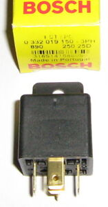 BOSCH  MINI  RELAY 12Volt 30Amps  (B/NEW)