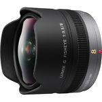 Panasonic  Lumix G FISHEYE H-F008E 8 mm - 35 mm F/3/5  Lens