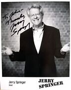 Jerry Springer Signed
