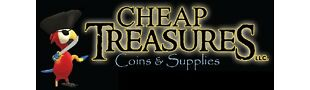 CHEAP TREASURES COINS AND SUPPLIES