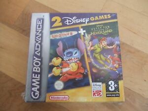 2 disney games peter pan lilo 2 gba sp ds lite new ebay. Black Bedroom Furniture Sets. Home Design Ideas