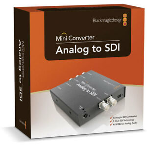 Blackmagic Design Analog to HD-SDI Mini Converter