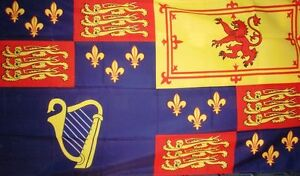 ROYAL-STANDARD-FLAG-5X3-1603-1689-KING-JAMES-I-VI