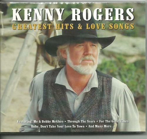 KENNY ROGERS - GREATEST HITS & LOVE SONGS on 2 CD's