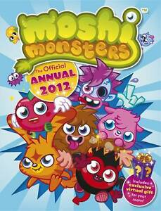 Moshi Monsters Official Annual 2012 VARIOUS New Book - Hereford, United Kingdom - Moshi Monsters Official Annual 2012 VARIOUS New Book - Hereford, United Kingdom