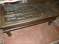Coffee Table Hand Carved India Furniture