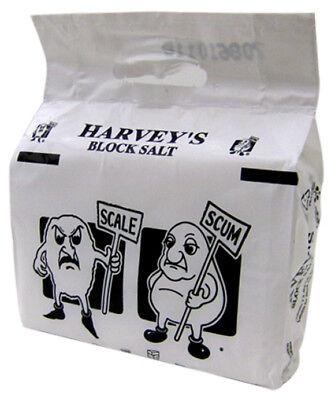 20 PACKETS HARVEYS 2X4KG BLOCK SALT DELIVERED  £84.00