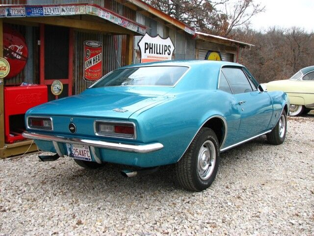 67 CAMARO #S 327/275HP DELUXE INT ORIGINAL CONDITION AC