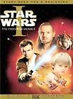 Star Wars Episode I: The Phantom Menace (DVD, 2001, 2-Disc Set, English and French Versions)