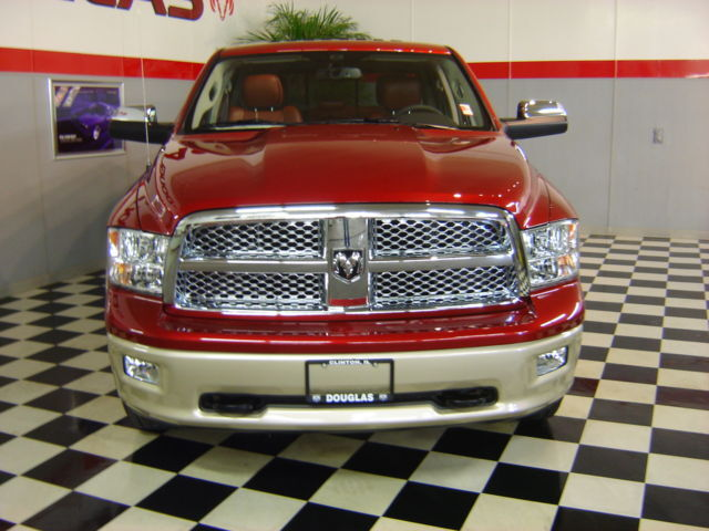 2011 RAM LARAMIE LONGHORN 4X4 1500 CREW CAB LOADED!!
