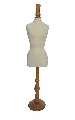 Mini Dress Form Pinnable Jersey For Jewelry or Dolls