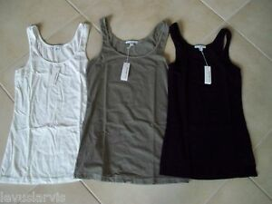 Style-WBJ3038-Smooth-Tank-Top-James-Perse-White-or-Black-Size-JP1-4-NWT