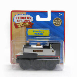 NEW-IN-BOX-Thomas-Tank-Engine-Train-FEARLESS-FREDDIE-Wooden-Railway