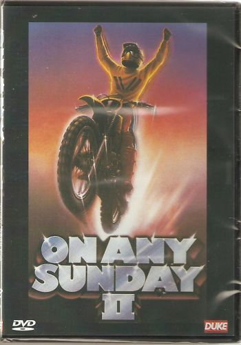ON ANY SUNDAY II (2) DVD Kenny Roberts Road racer Speedway Bruce Penhall + more