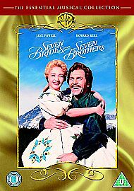 Seven Brides For Seven Brothers (DVD, 2006) *New & Factory Sealed*