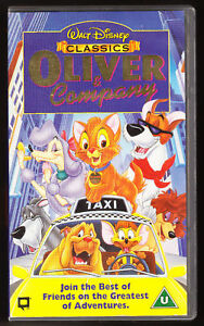 DISNEY CLASSICS - OLIVER & COMPANY - VHS PAL (UK) VIDEO ...