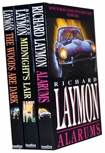 Richard Laymon Collection 3 Books Set Pack PB New
