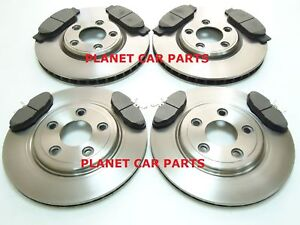 JAGUAR S TYPE S-TYPE FRONT & REAR BRAKE DISCS AND PADS