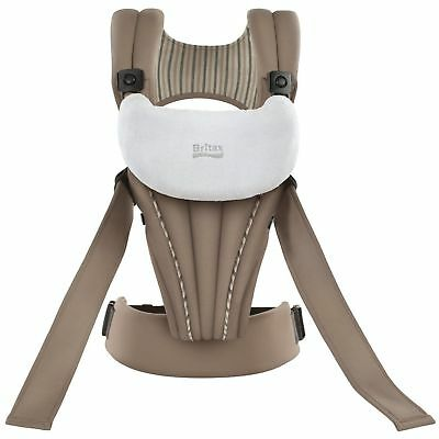 Britax Organic Baby Carrier In Tan With Bonus Free Bib 2-pack Brand