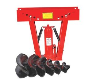 NEW 12 TON HYDRAULIC PIPE BENDER PORTABLE BENDING !!!