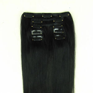 24-Clip-in-on-Hair-Extension-100-Human-Hair-60CM-HOT
