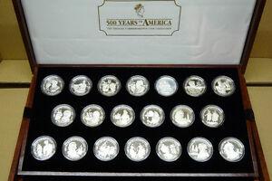 Münzsammlung 500 Jahre Amerika 50 Neuseeland Dollar