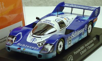 Slot It Sica09b Schiesser Porsche 956c 1/32 Slot Car In Sealed Display Case