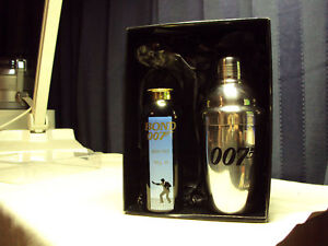 JAMES-BOND-007-STAINLESS-COCKTAIL-SHAKER-TALC-SET-M-B
