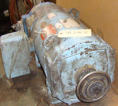 Ge Electric Dc Motor Hp 5 Rpm 1750 9179lr
