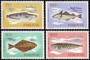 Denmark Faroe 1983 Mi 86-89 ** Fische Fish Ryby Ships Schiffe - <span itemprop=availableAtOrFrom> Dabrowa, Polska</span> - Denmark Faroe 1983 Mi 86-89 ** Fische Fish Ryby Ships Schiffe -  Dabrowa, Polska