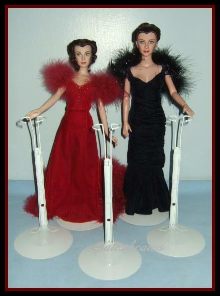 3 Doll Stands For Franklin Mint/tonner Scarlett O'hara