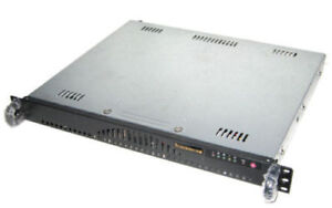 SUPERMICRO 1U 2x L5420 QC 2.5GHz 16GB NO HARD DRIVE Half Depth Server (Ca)
