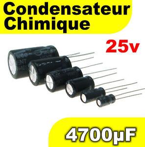 Condensateur 25v